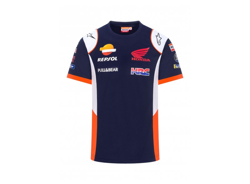 Repsol Honda Replica 2021 T-shirt - Blue