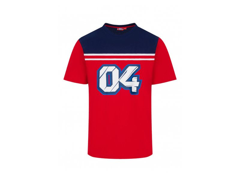 T-shirt Dovizioso 04 - Red