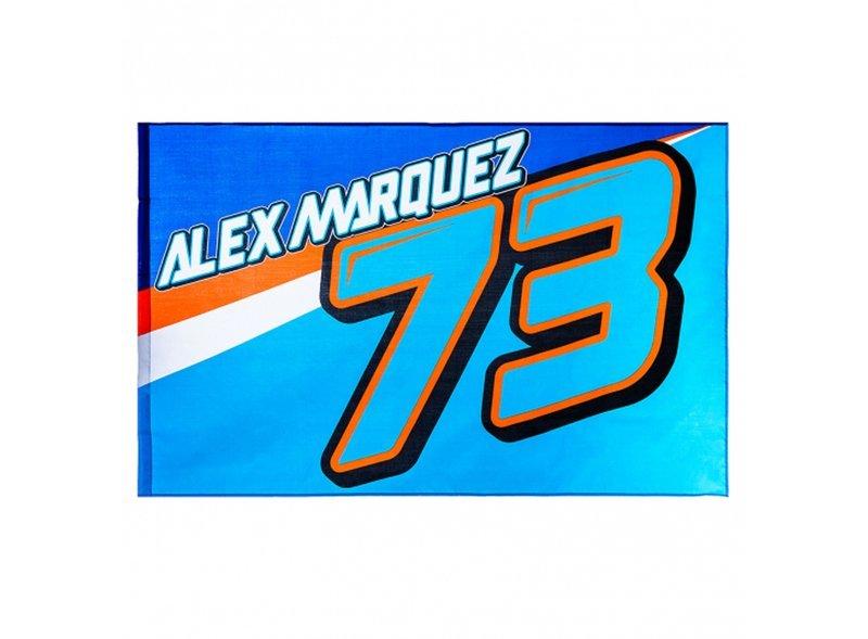 Drapeau Alex Marquez 73