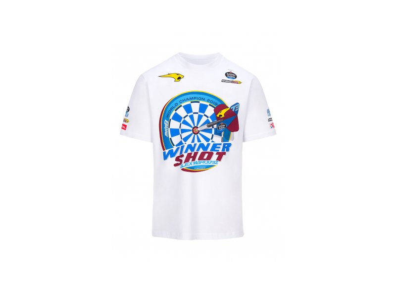 2019 World Champion Alex Marquez T-shi - White