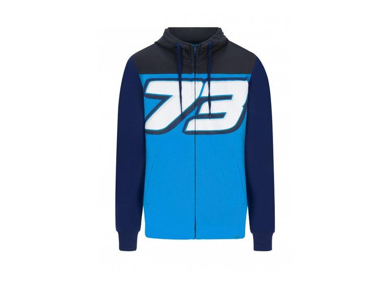 Felpa Alex Marquez 73 - Blue
