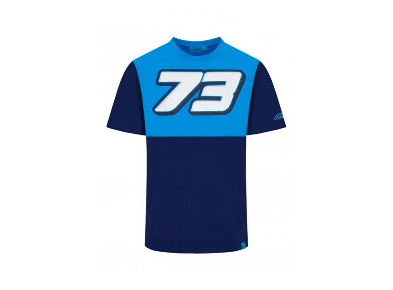 Camiseta Alex Marquez 73 - Blue