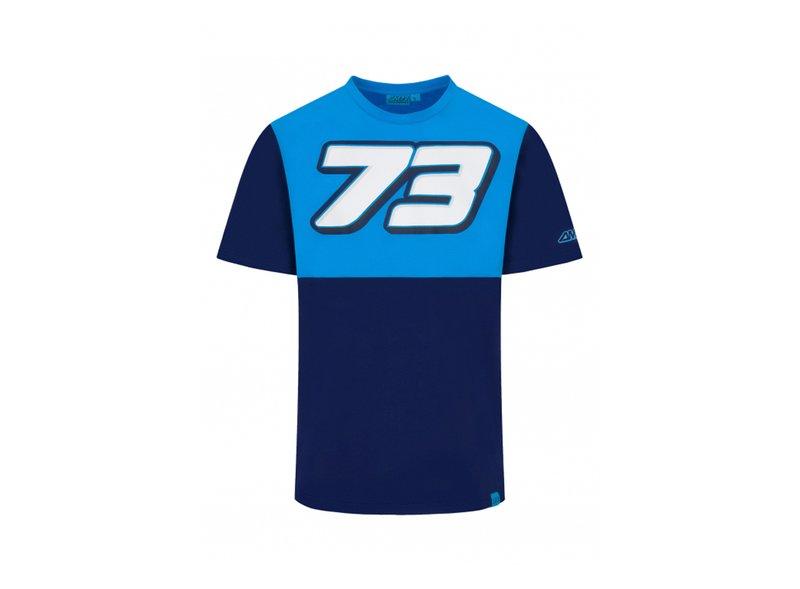 Camiseta Alex Marquez 73 - Blue