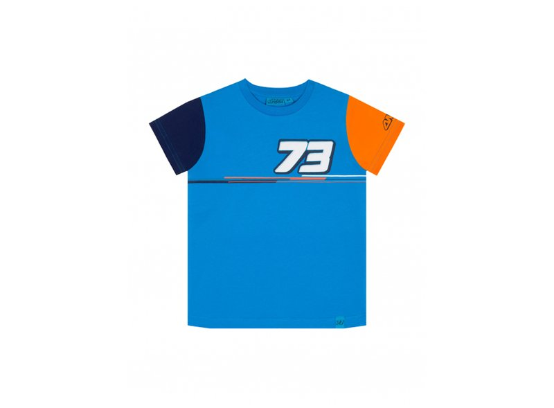 Boy's T-shirt Marquez 73 - Blue