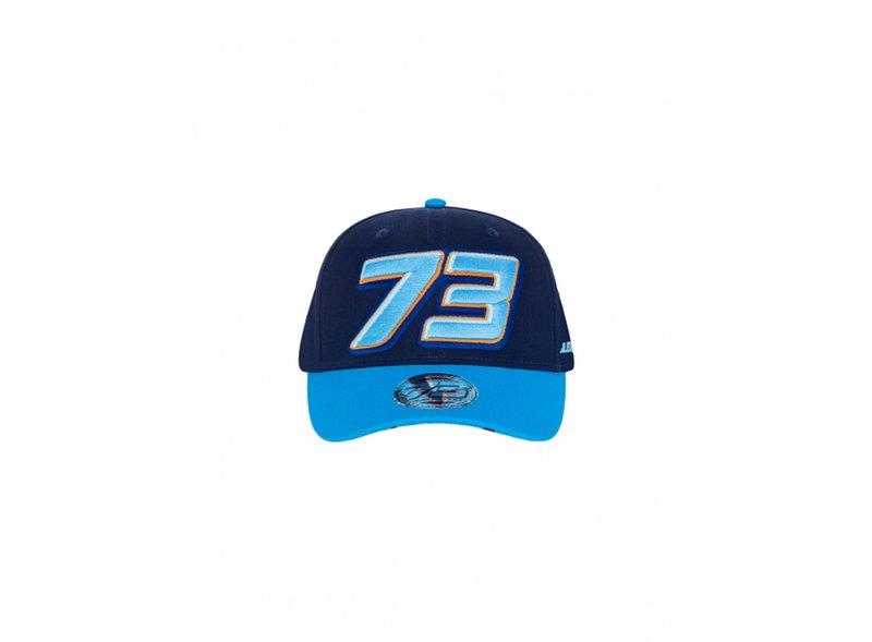 Gorra Alex Marquez 73 - Blue