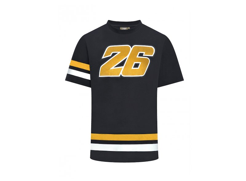 Dani Pedrosa T-shirt 26 GOLD - White