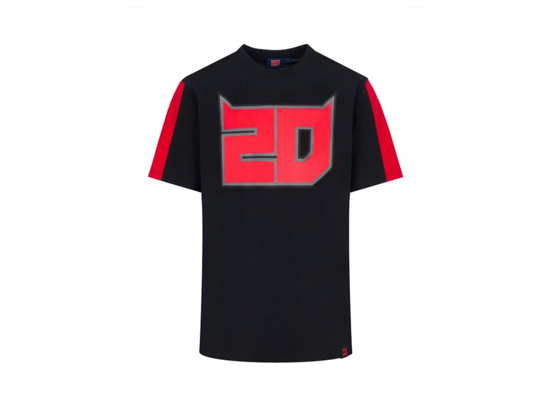 Camiseta Fabio Quartararo 20 - Black