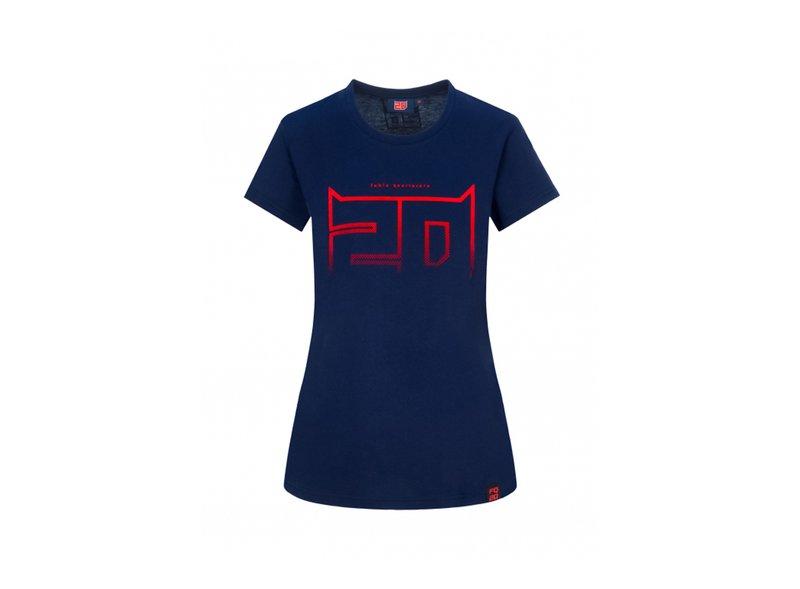 Camiseta Fabio Quartararo 20 Mujer