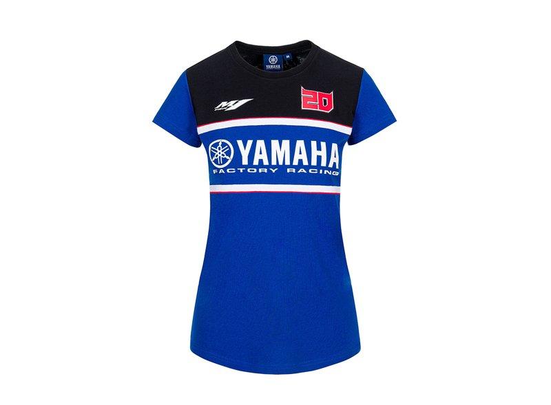 T-shirt Fabio Quartararo Yamaha Dual - Blue