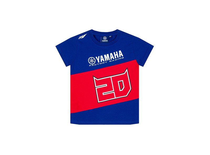 T-shirt Fabio Quartararo Yamaha Dual Enfant - Blue
