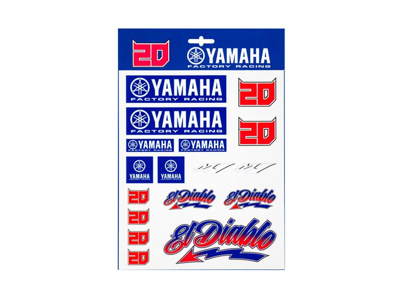 Pegatinas Quartararo Yamaha Dual