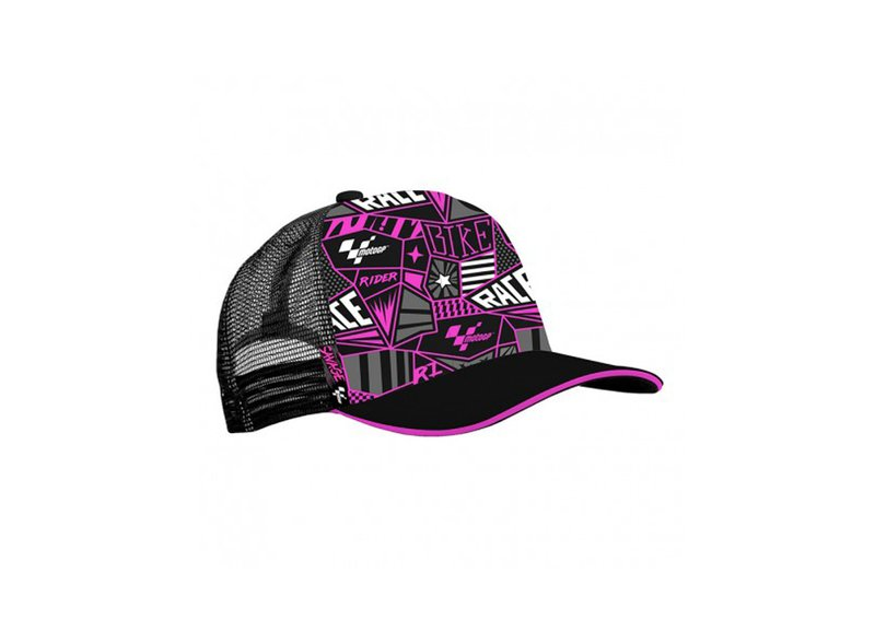 Capellino MotoGP™ Trucker Rosa - Multicolor