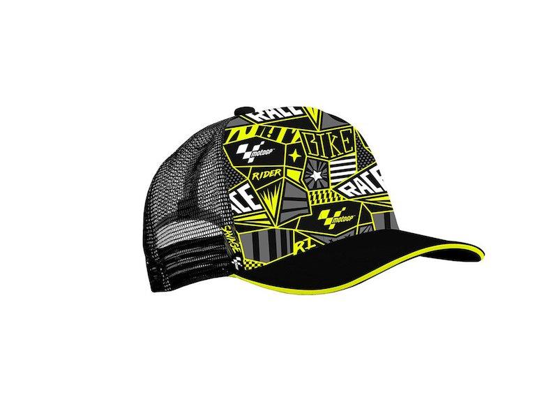 Gorra MotoGP Trucker - Black