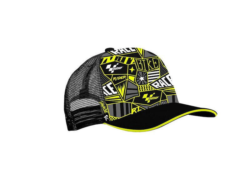 MotoGP Trucker Cap - Black
