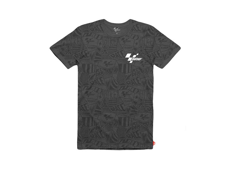 MotoGP T-shirt black Pattern