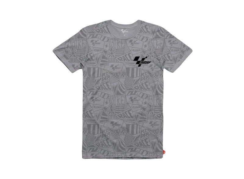 MotoGP™ T-shirt grey Pattern - Grey
