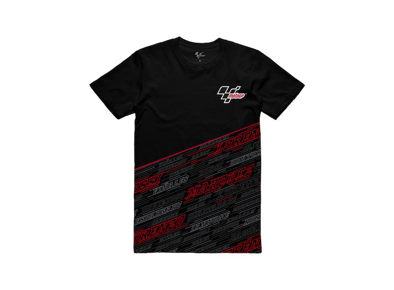 Camiseta  MotoGP™ Riders Line - Black