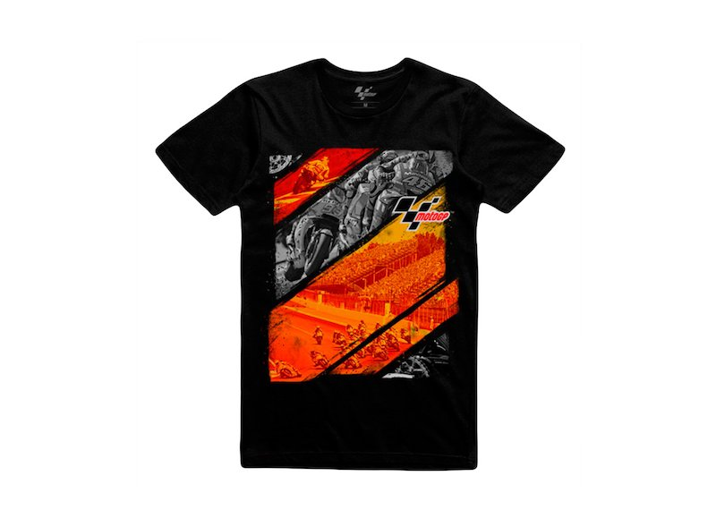 Netherlands MotoGP Race T-Shirt - Black