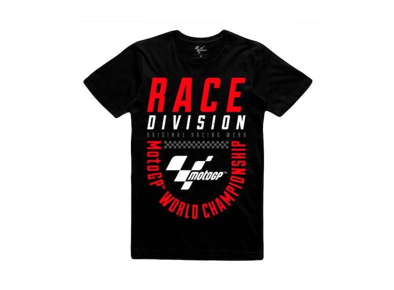 T-Shirt Race Division MotoGP - Black