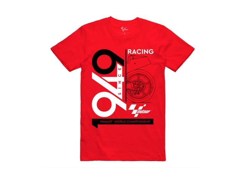 Camiseta Retro 1949 MotoGP - Red
