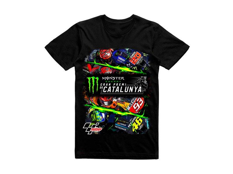 Maglietta Gran Premi Monster Energy de Catalunya 2021 - Black