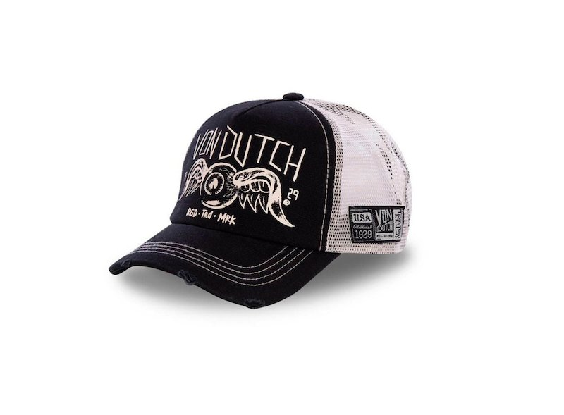 Casquette Noir Von Dutch MotoGP Trucker - Multicolor
