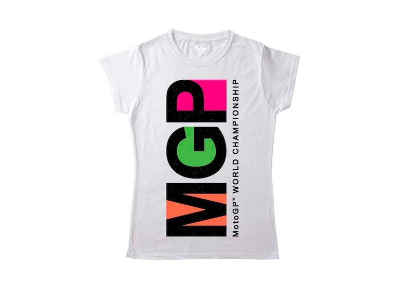 Women's white MGP t-shirt