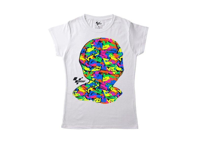 T-shirt Femme MotoGP™ Casque - White