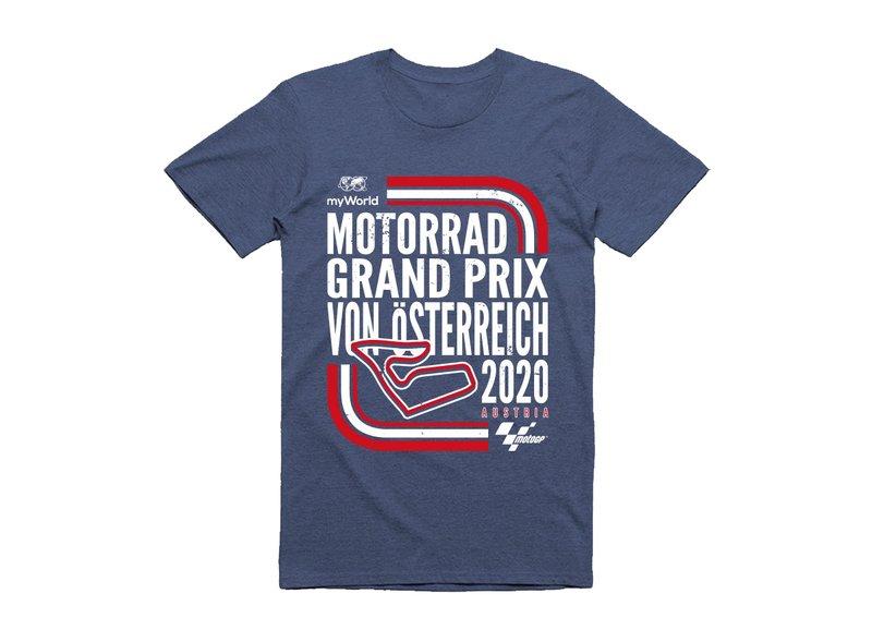 myWorld Motorrad Grand Prix von Österreich T-shirt