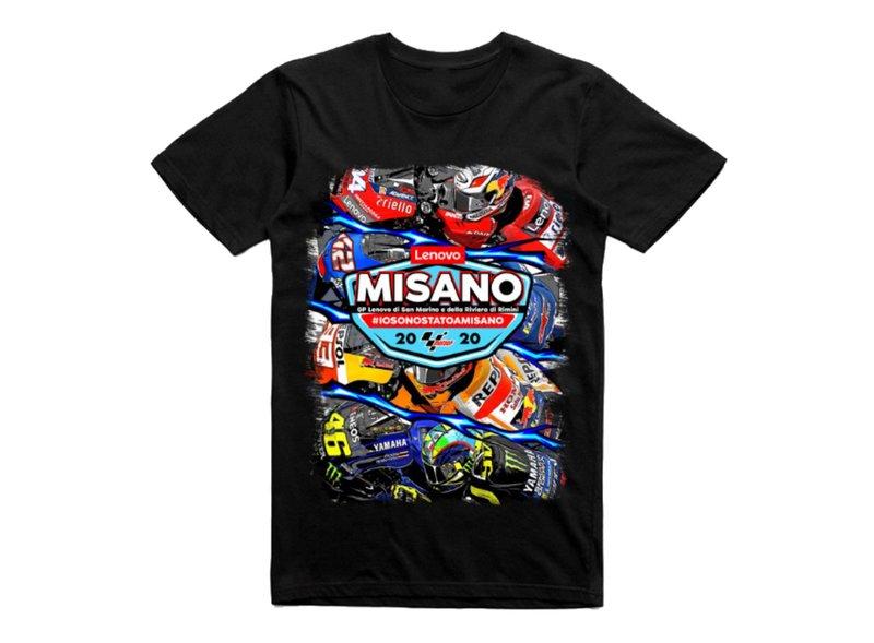 Gran Premio Lenovo di San Marino e della Riviera di Rimini T-shirt - Black