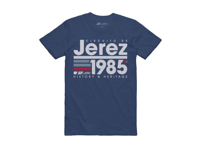 Maglietta Circuito de Jerez 1985 - Blue