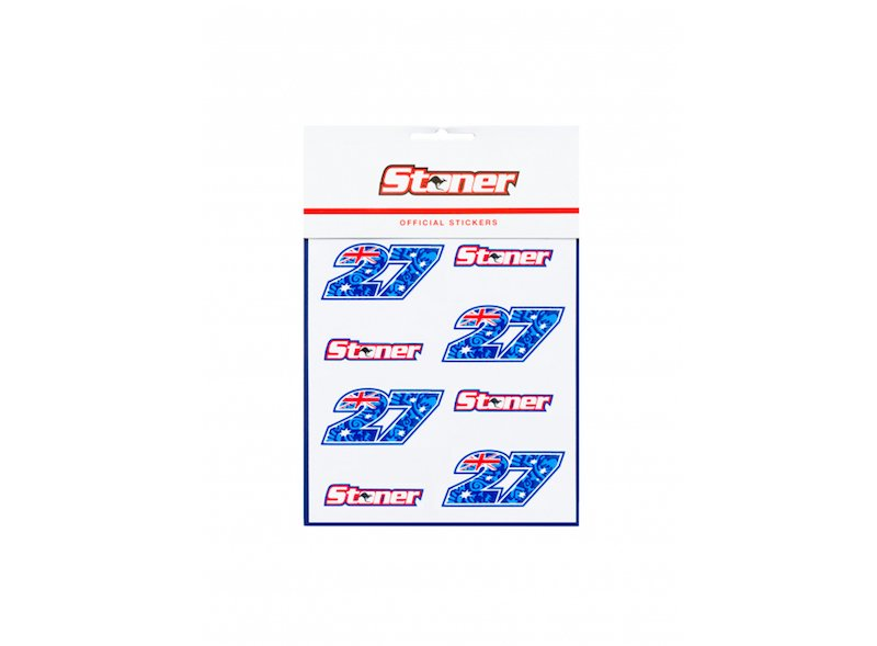 Casey Stoner stickers