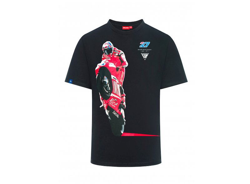 T-shirt Stoner - Ducati photo - White