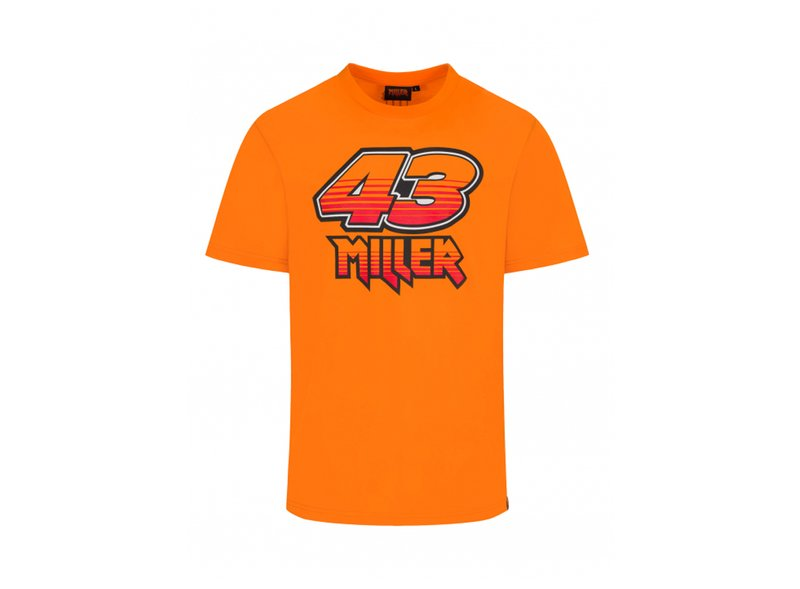 T-shirt  Jack Miller - Orange