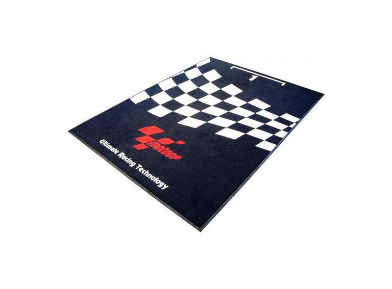 Alfombra de garaje MotoGP™ Parc Fermé 180x103cm - Black