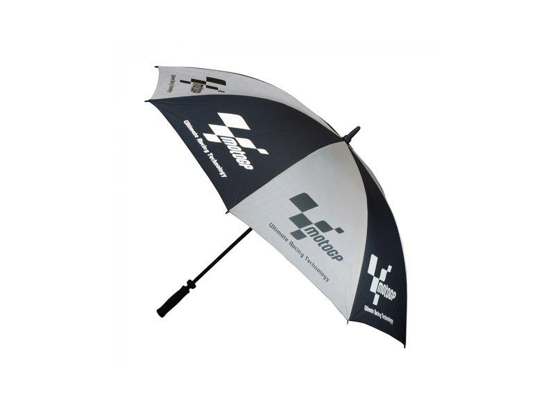 Ombrello da pista MotoGP nero e argento