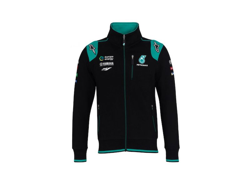 Yamaha Petronas Track Top Sweat - Black
