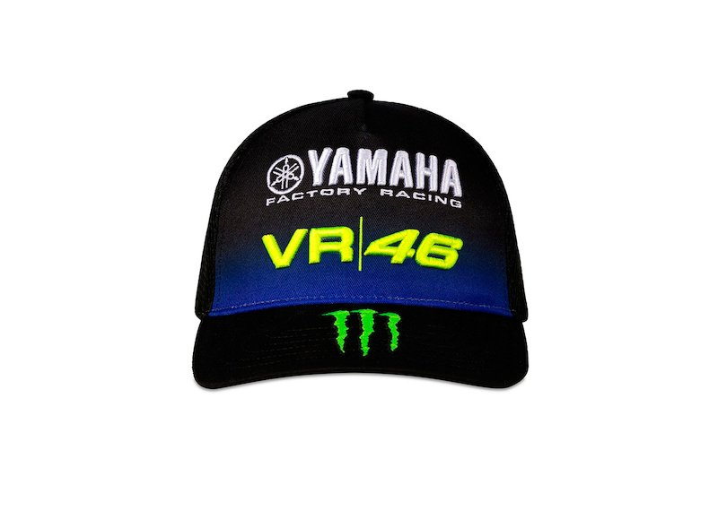 VR46 Baseball Cap Valentino Rossi 46 Official Merchandise Yellow//Black//Grey