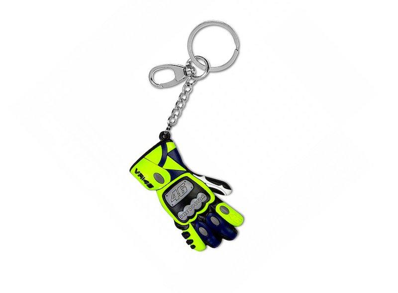 Porte-clés gants Rossi réplique 3D