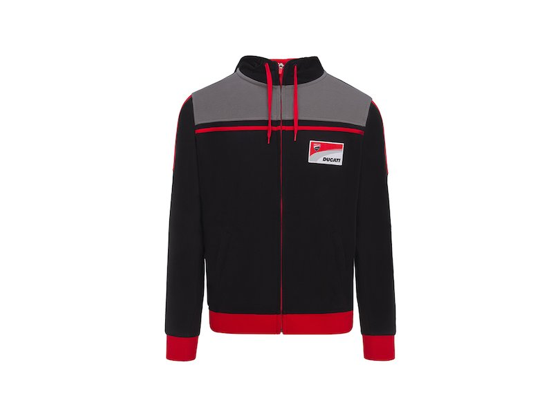Ducati Official Racing Hoddie - White
