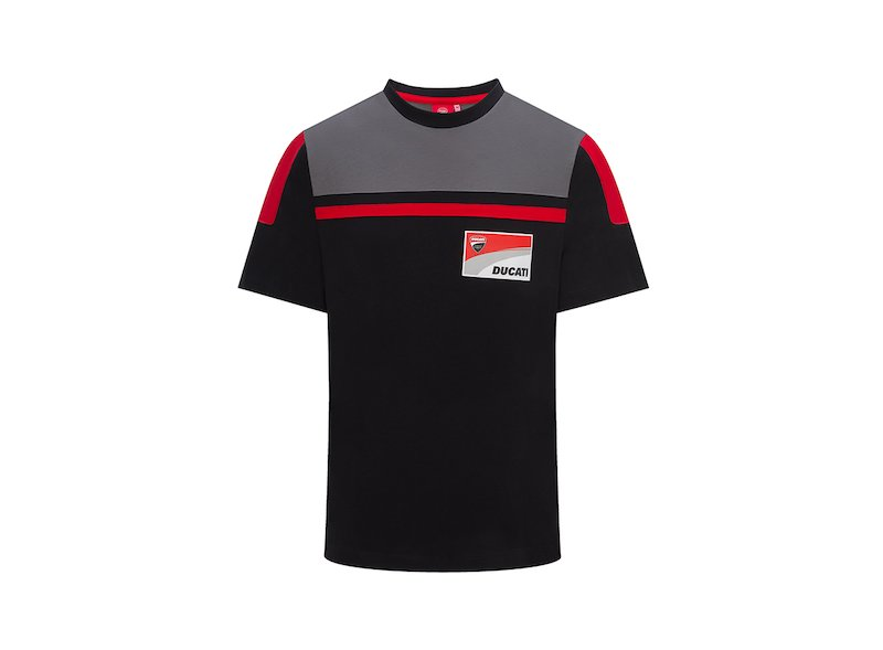 Camiseta Contraste Yoke Ducati - White