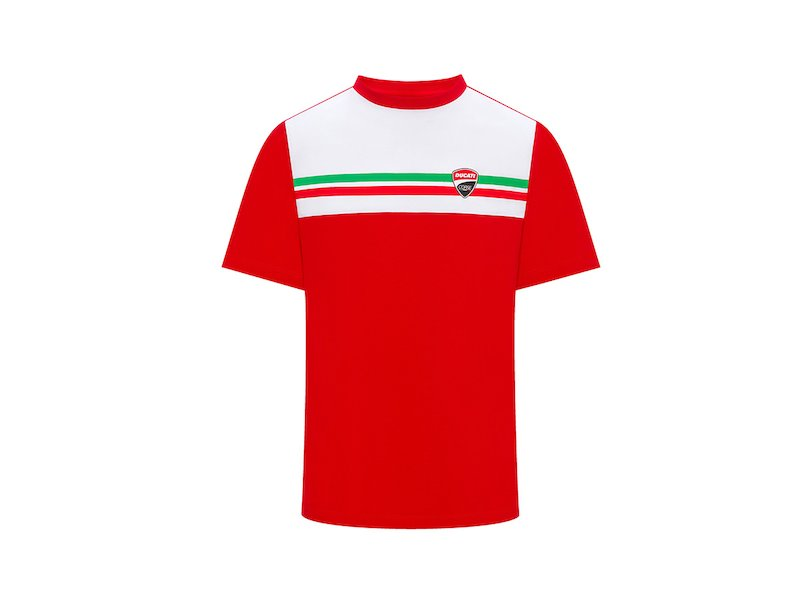 Ducati Tricolour T-shirt - White