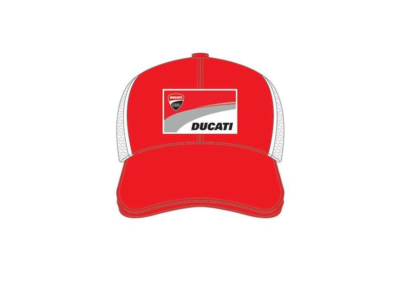 Cappellino con patch Ducati