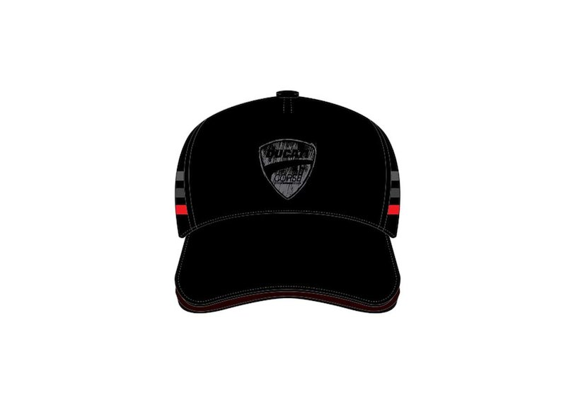 Flock Ducati Black Cap - White