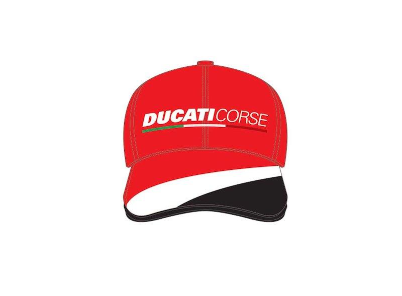 CASQUETTE DUCATI CORSE BASEBALL