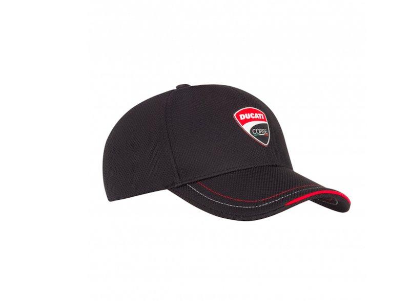 Gorra Ducati Corse negra