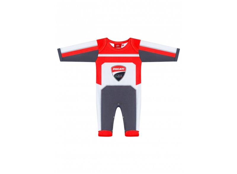Corps de bébé Ducati Corse - White
