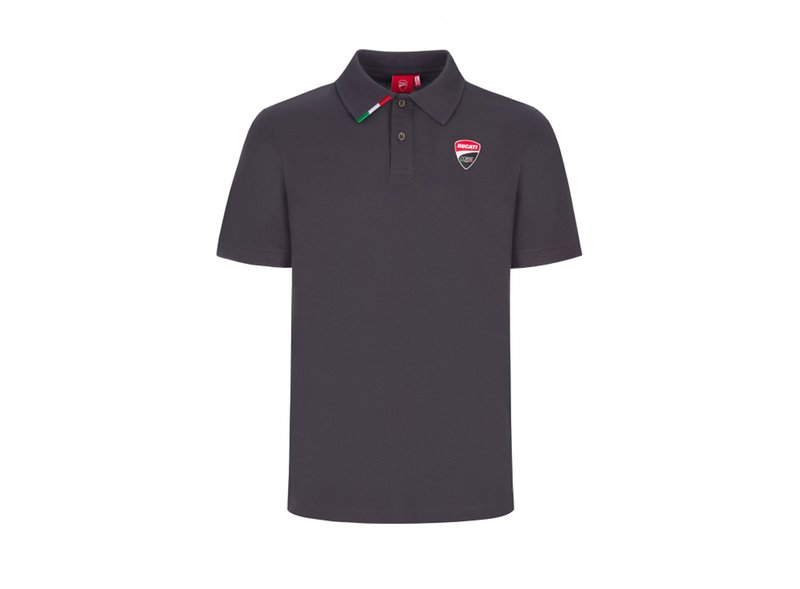 Ducati Corse Team Polo T-shirt - Anthracite Grey