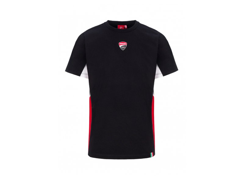 Camiseta Ducati Corse Insert Side - Black