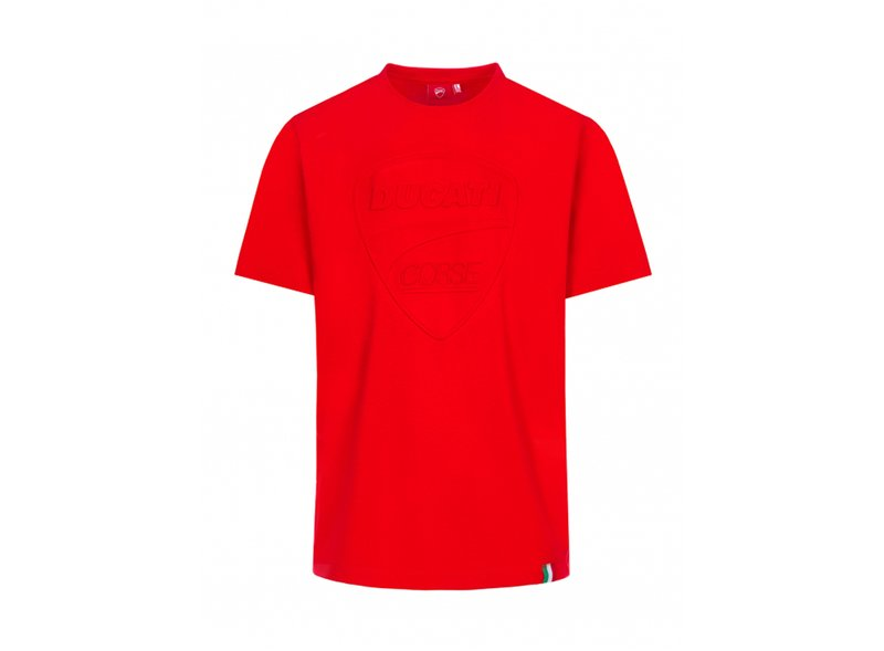 T-shirt Ducati Tonal Logo - Red